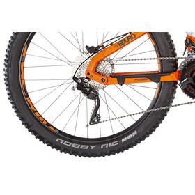 HAIBIKE SDURO FullSeven 8.0 E-MTB fullsuspension orange/sølv